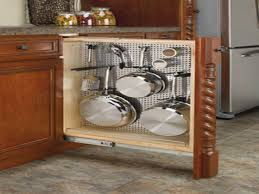 Kitchen Cabinet Storage Accessories Creative Kitchen Cabinet Storage Solutions Design Cream Open
