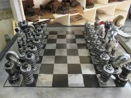 car part chess set pomysły do domu pinterest chess sets