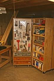 Tool Storage Shelves Woodworking Plan by This Is The Kind Of Storage Cabinet I Want To Build Guillermo Has