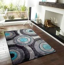 Best Rug For Kitchen by 2 Piece Set Grey With Black Shag Rug With Rug Pad Shag Area