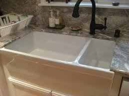 Kitchen Porcelain Sink Tips Simple Installation Kitchen Sinks Lowes Decor Homes
