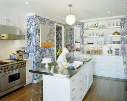 contemporary kitchen wallpaper ideas steven sclaroff a baker u0027s kitchen