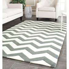 Black And White Zig Zag Rug Decorating Ideas Cozy Image Of Living Room Decoration Using