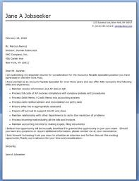 Sample Resume For Accounts Payable Specialist by Cover Letter Accounts Payable Specialist Creative Resume Design