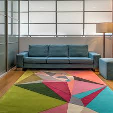 Modern Colorful Rugs Korgamy Collection Colorful Geometric Rugs By Karim Rashid 10