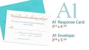 wedding invitation response cards size popular wedding