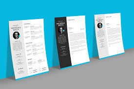 free professional resume cv design with cover letter available
