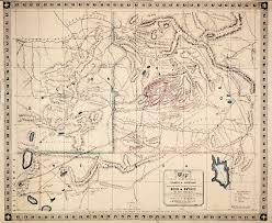 Map Of Lincoln City Oregon by Mining Sections Of Idaho And Oregon 1864