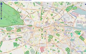 Dublin Ireland Map Map Showing The Lack Of Green Spaces Public Parks In Dublin 8