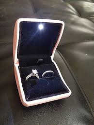 wedding rings in box pink led light engagement wedding ring box endlessparts