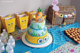 spongebob cake ideas spongebob squarepants birthday party inspiration made simple