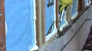 Bedroom Wall Insulation Diy Spray Foam Insulation Poor Man U0027s Spray Foam Youtube