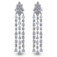 diamond chandelier earrings diamond chandelier earrings jacob co timepieces