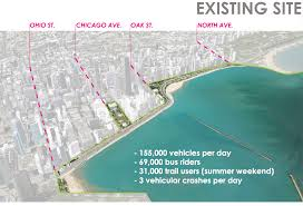2nd Ward Map Chicago by A Look At The Ambitious Plan To Bury Chicago U0027s Lake Shore Drive