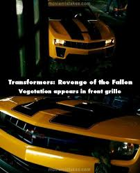 camaro quotes transformers of the fallen 2009 mistake picture