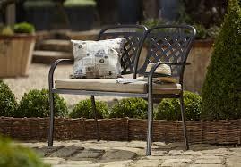 berkeley cast aluminium garden bench 215 1 garden4less uk shop