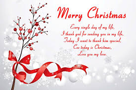 cute romantic christmas love messages heart happy christmas