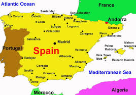 map of spain spain travel guide beachcomber pete travel