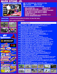 ama district 14 motocross resume mark stone jr mx u0026 sx
