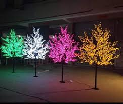 discount cherry blossom led light trees 2017 led light trees