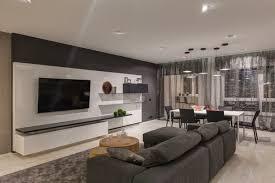 wohnung gestalten wohnung einrichten in grau wohnzimmer gestalten modern lowboard