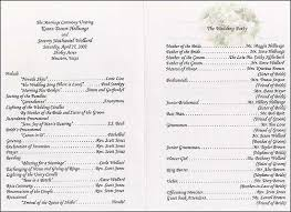 wedding program layouts s free wedding program templates wedding album layouts