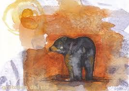 black bear gretchen del rio u0027s art blog