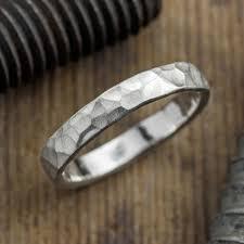 hammered wedding band 4mm hammered mens wedding band matte point no point studio