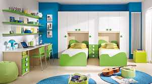 Modern Kid Bedroom Furniture Bedroom Simple Modern Kids Bedroom With Blue Green And Yellow