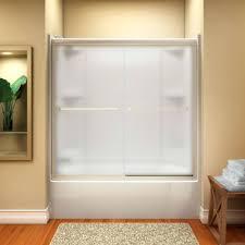 bathtub shower doors glass frameless euro frameless sliding tub