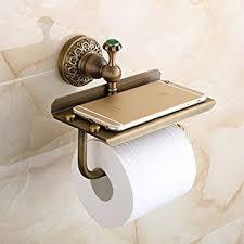 amazon com beelee bathroom tissue holder toilet paper holder