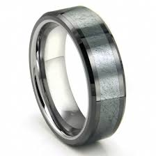 mens titanium wedding rings channel black s wedding ring in white gold throughout