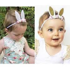 toddler headbands rabbit baby girl headband party live flower newborn toddler