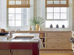 interior coastal style kitchen design or beach themed including