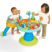 table eveil bebe avec siege poste d activités doodle bugs around we go de bright starts amazon