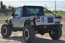 jeep truck conversion dv8 offroad truck conversion kit 07 17 jk 4wheelonline com
