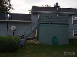 add a storage shed underneath your deck deck with storage underneath