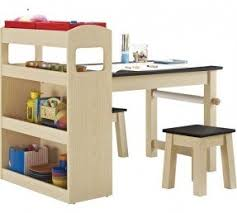 Childrens Work Benches Activity Tables For Kids With Storage Foter