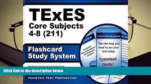 audiobook texes core subjects 4 8 211 flashcard study system