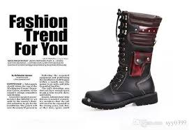 s yard boots sale leather boots for combat rock s knee high