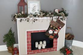 how to make a cardboard christmas fireplace with pictures ehow
