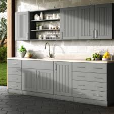 outdoor kitchen base cabinets assembled 15x34 5x24 in naples island outdoor kitchen base cabinet