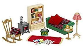Sylvanian Families Cosy Living Room Set Amazoncouk Toys  Games - Sylvanian families living room set