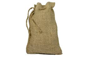 4 x 6 burlap bags with drawstring lot of 100 health