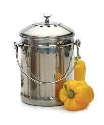 endurance compost pail original 1 gallon rsvp international inc endurance compost pail original 1 gallon