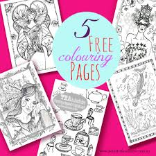 five free printable colouring pages the butterfly collector