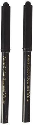 black edible marker americolor 2 pack gourmet food writer set black marker