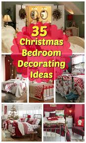 Red Bedrooms Decorating Ideas - 35 mesmerizing christmas bedroom decorating ideas all about