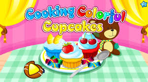 cooking colorful cupcakes kids games to play for free download