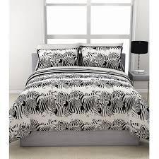 formula zebra stampede reversible complete bedding set black